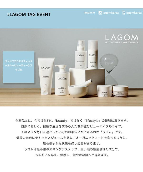 LAGOM/ラゴム マイクロフォーム クレンザー [Y503]